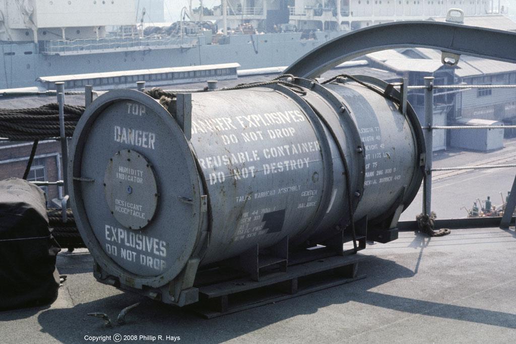 USS Oklahoma City Talos Missile Miscellaneous
