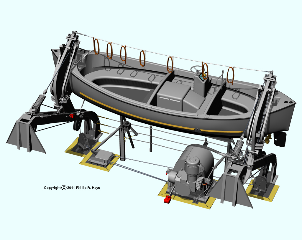 Motor for boat davits all boats for Boat lift motors for sale