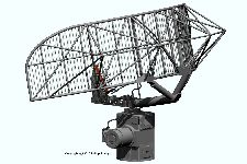 AN/SPS-10 radar antenna