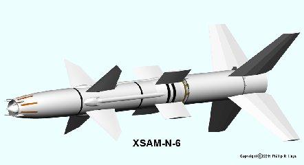 Prototype Talos missile